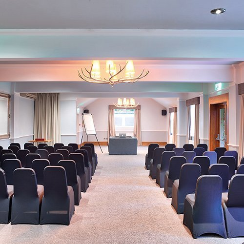Conference or wedding seating setup
