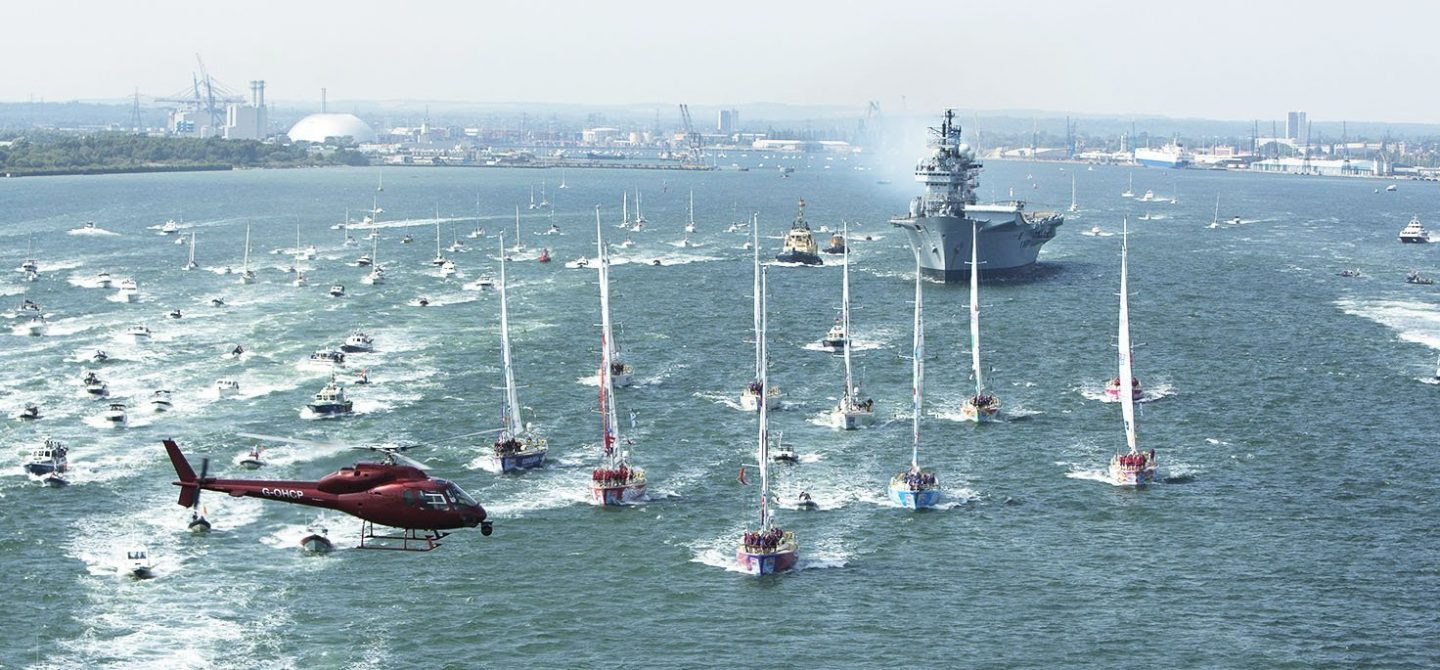Clipper Race Major Event Opening with Royal Navy Southampton