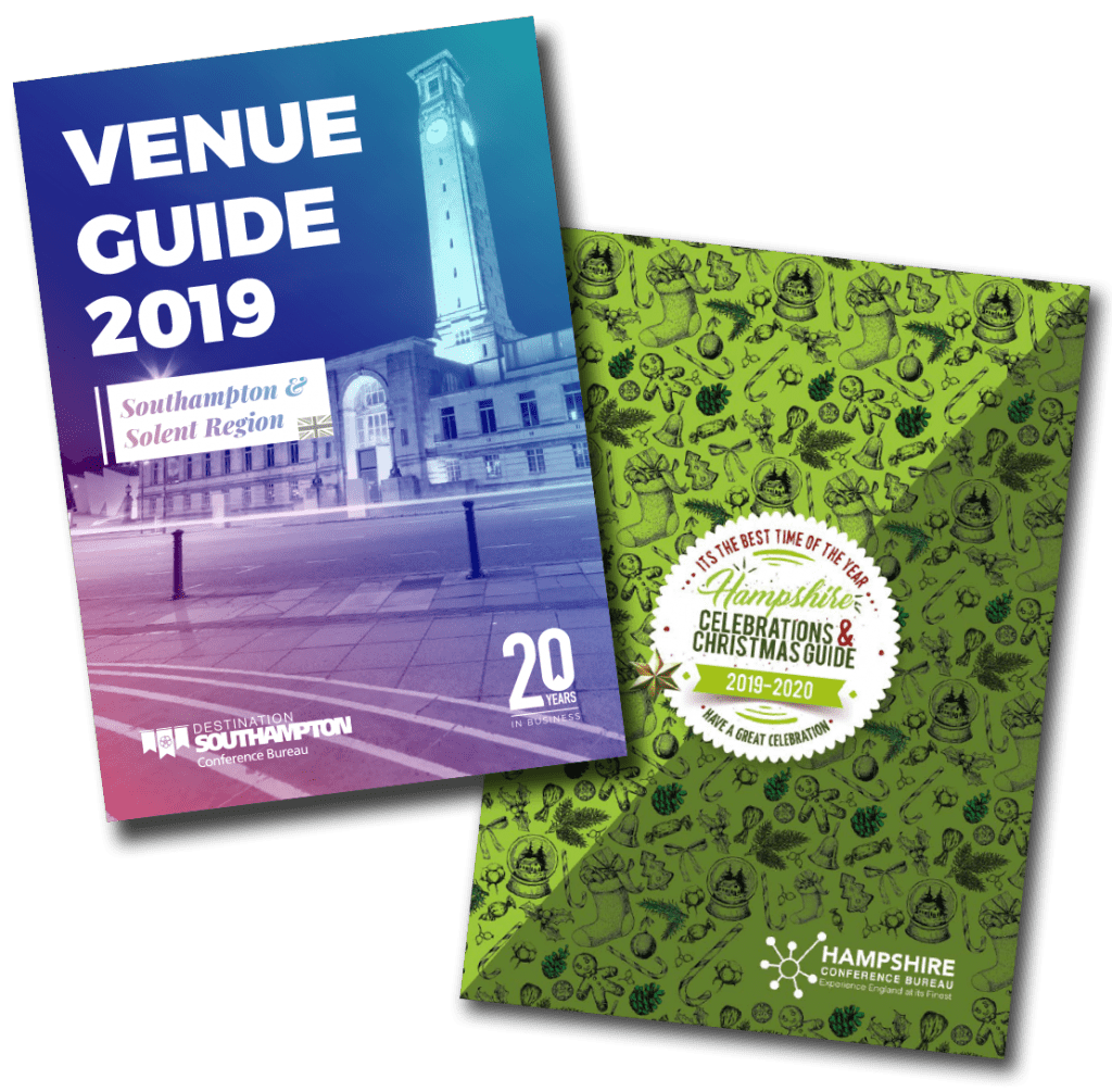 Southampton Venue Guide and Holiday Guide cover images